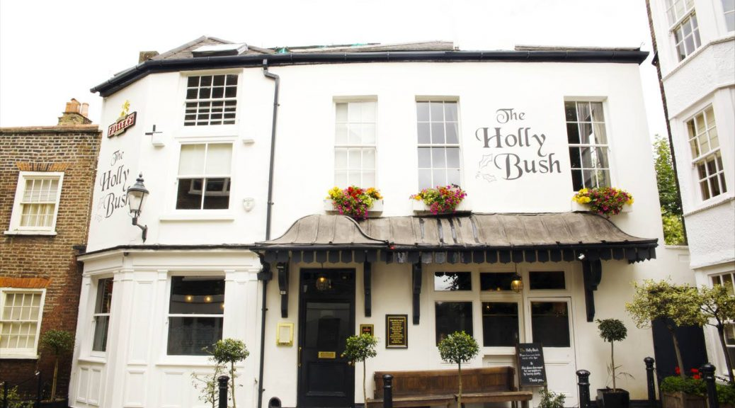 The Holly Bush pub in Hampstead