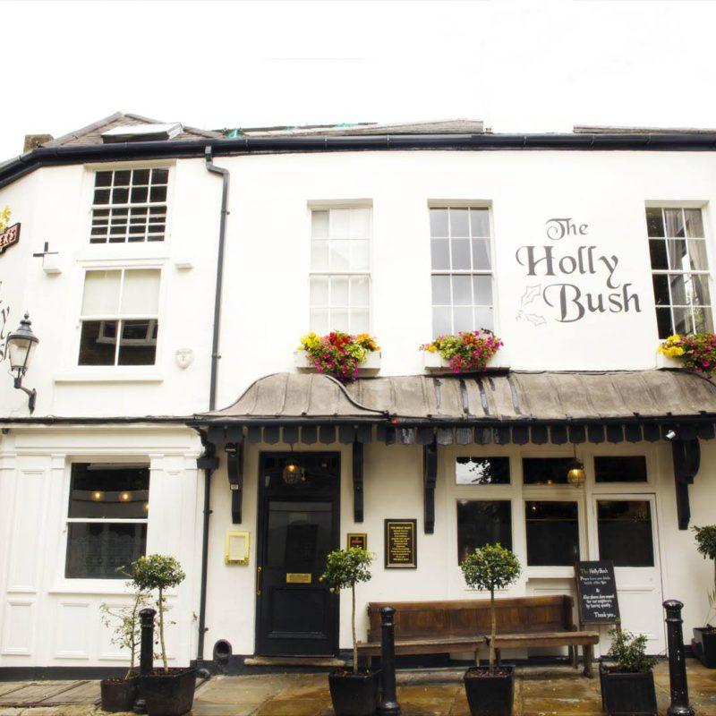 The Holly Bush pub in Hampstead